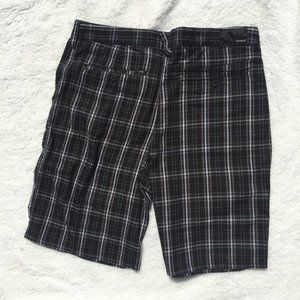 Men's Hurley Bermuda Plaid Shorts size 34